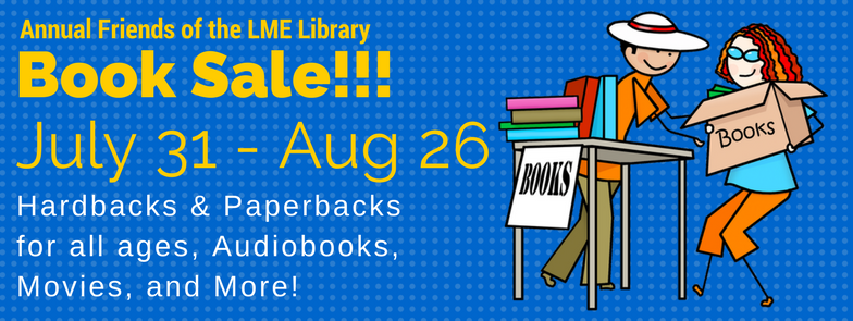 LME Friends Book Sale