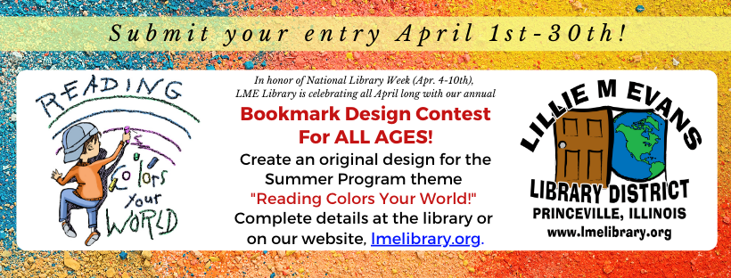 2021 SRP Bookmark Contest - WEB