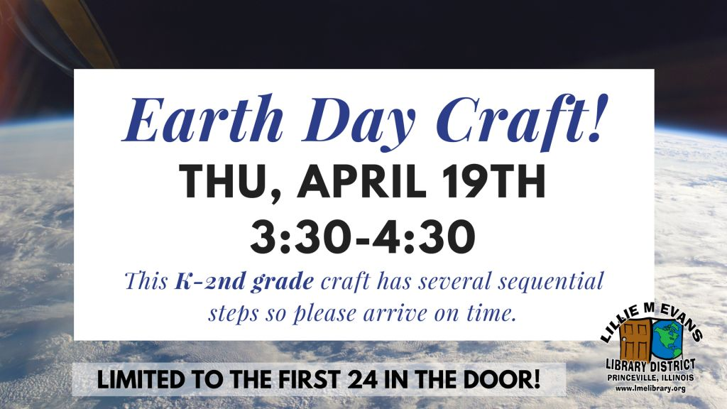 Earth Day Craft - DIG