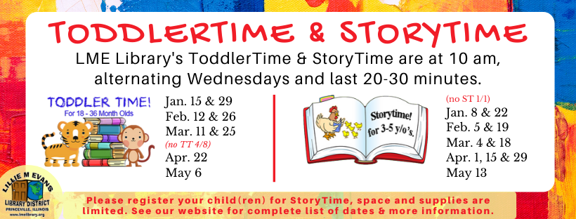 StoryTime and ToddlerTime Resumes Jan-May - WEB