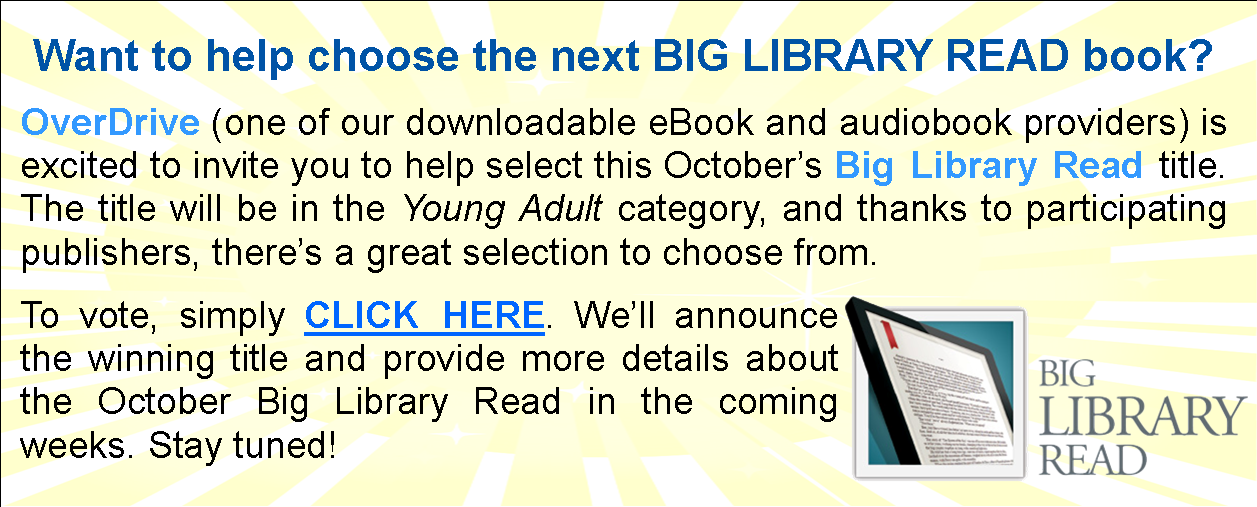 Overdrive BigLibraryRead-Vote
