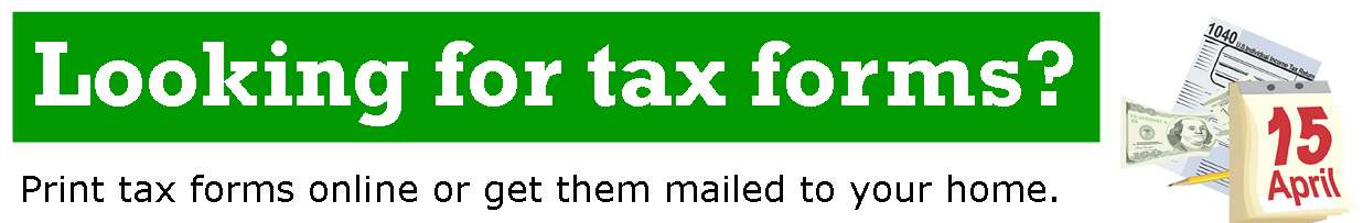 Tax forms Header
