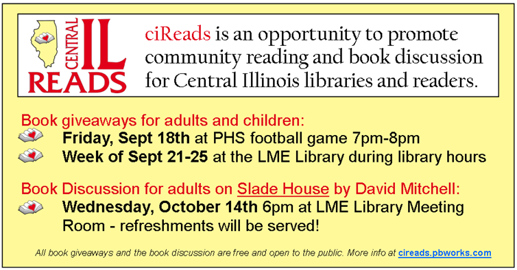 ciReads 2015 events
